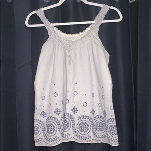 Abercrombie and Fitch sleeveless blouse size M